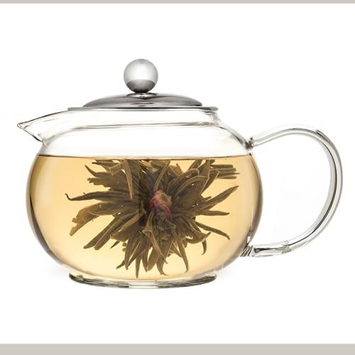 Pinky Up Creme Brule Flowering Tea