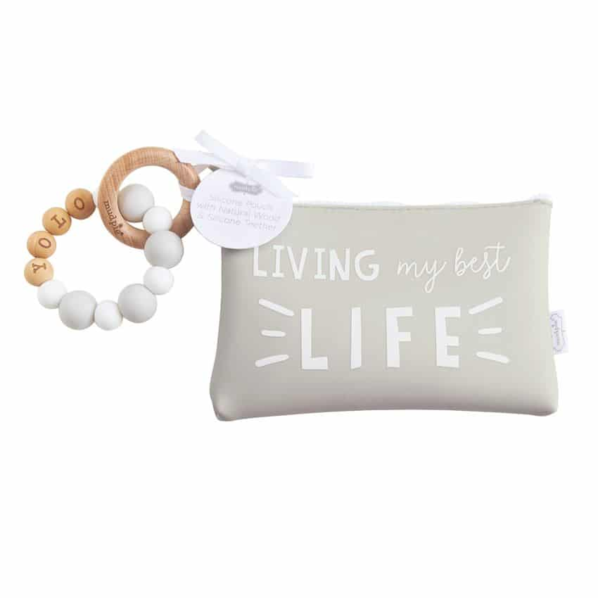 BEST LIFE SILICONE TEETHER POUCH SET 1