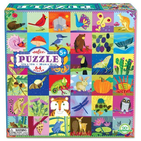 Portraits of Nature 64 Piece Puzzle
