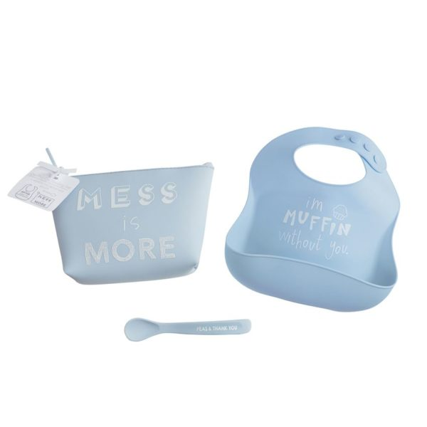 Mess Is More Silicone Feeding Set