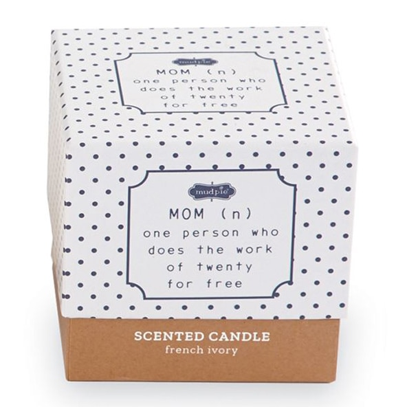 MOM DEFINITION BOXED CANDLE 2