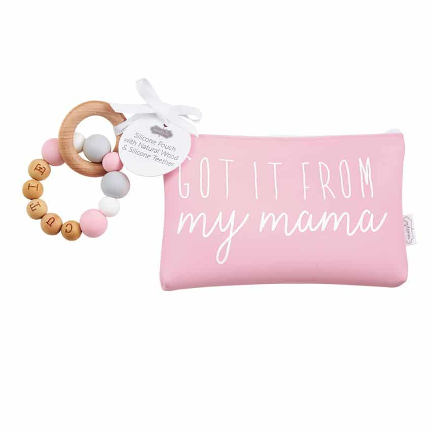 MY MAMA SILICONE TEETHER POUCH SET 1