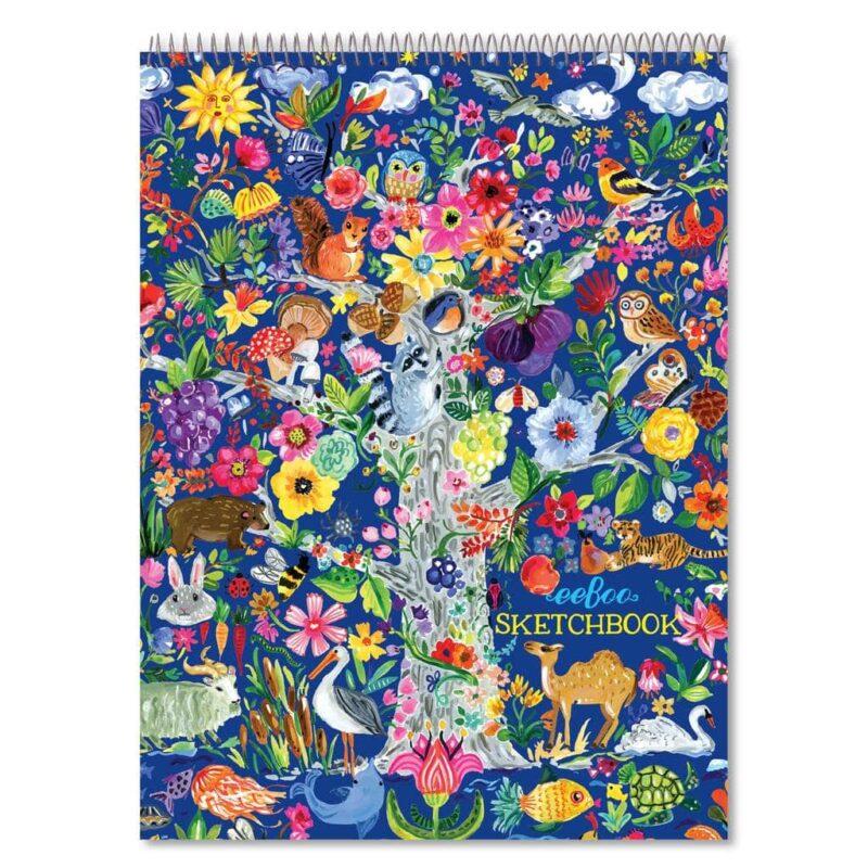 Tree of Life Sketchbook Drawing Pad
