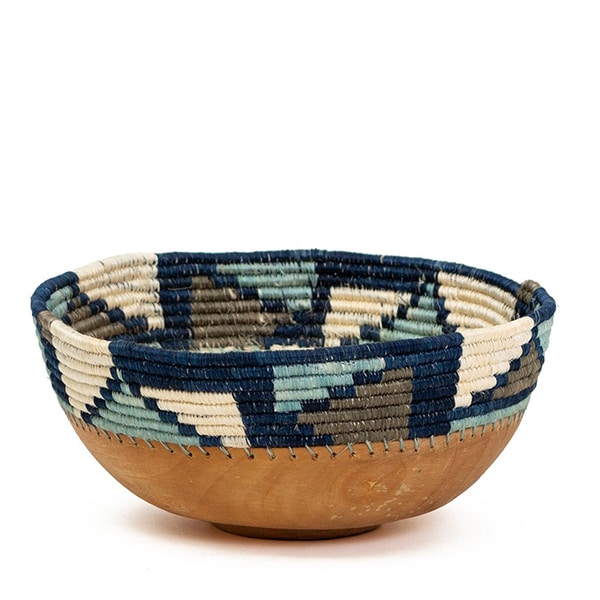 MOSAIC WOODEN BOWL