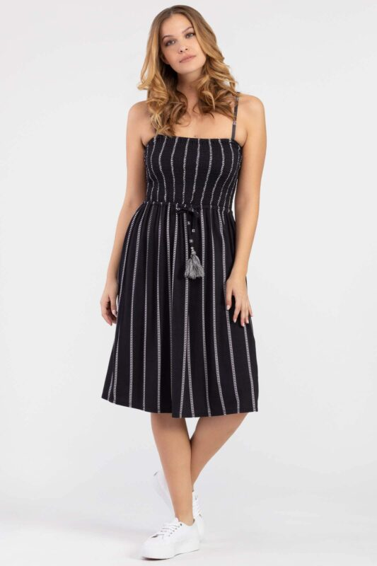 Adjustable stap dress 1