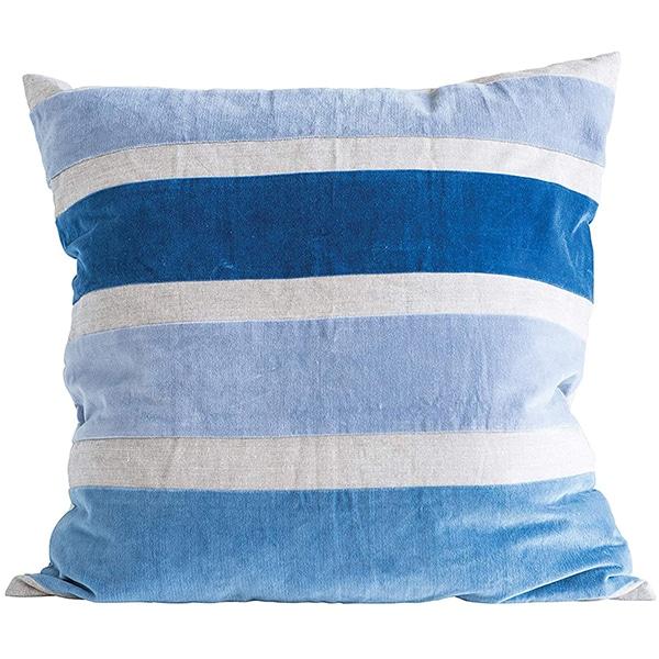 BLUE STRIPED PILLOW