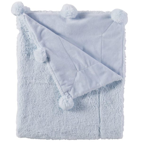Plush Pom-Pom Blanket