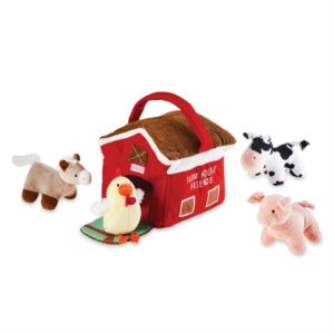 Farmhouse Plush Play Set