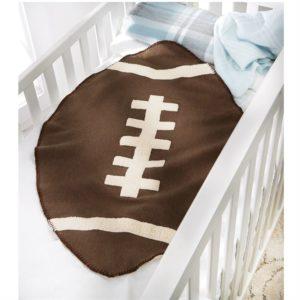 Football Sherpa Blanket