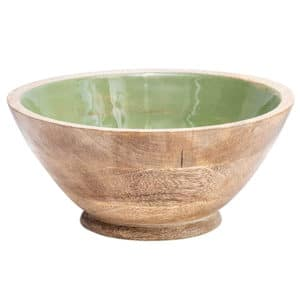 Decorative Green Bowl