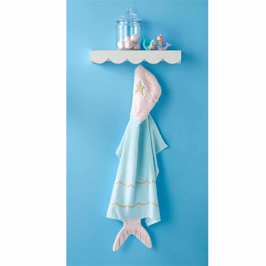 MERMAID BABY HOODED TOWEL 1