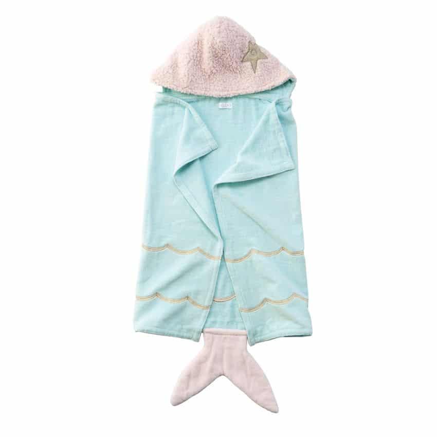 MERMAID BABY HOODED TOWEL 2