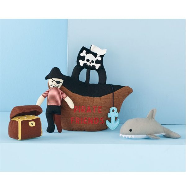 Pirate Friends Plush Play Set