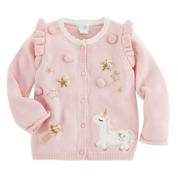 Pink Unicorn Dazzle Cardigan