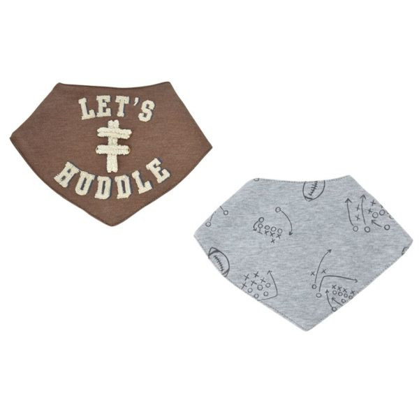 Reversible Football Bandana Bib Set