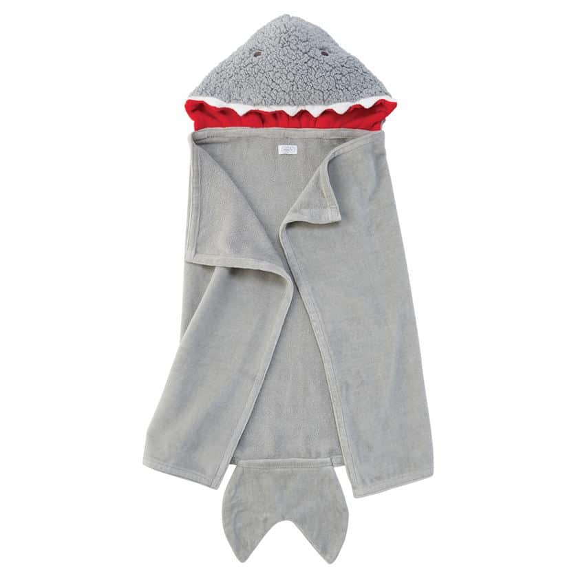 SHARK BABY HOODED TOWEL 2