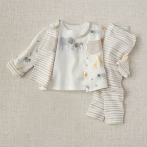 Safari Animal Reversible Three-Piece Set