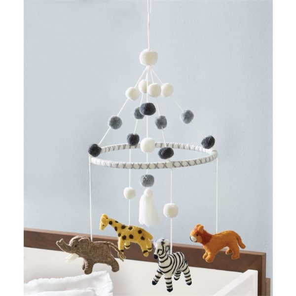 Safari Animal Wool Mobile