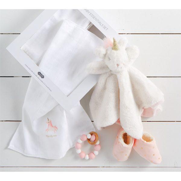 Unicorn Baby Essentials Gift Set