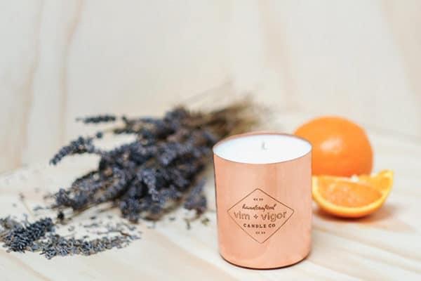 Vim + Vigor Soy Wax Candle