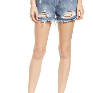 Meredith High Waist Denim Shorts