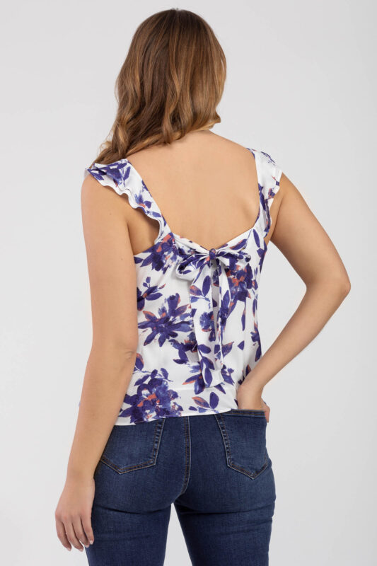 ruffle sleeveless blouse 2