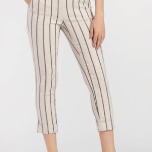 Striped Cuffed Pant