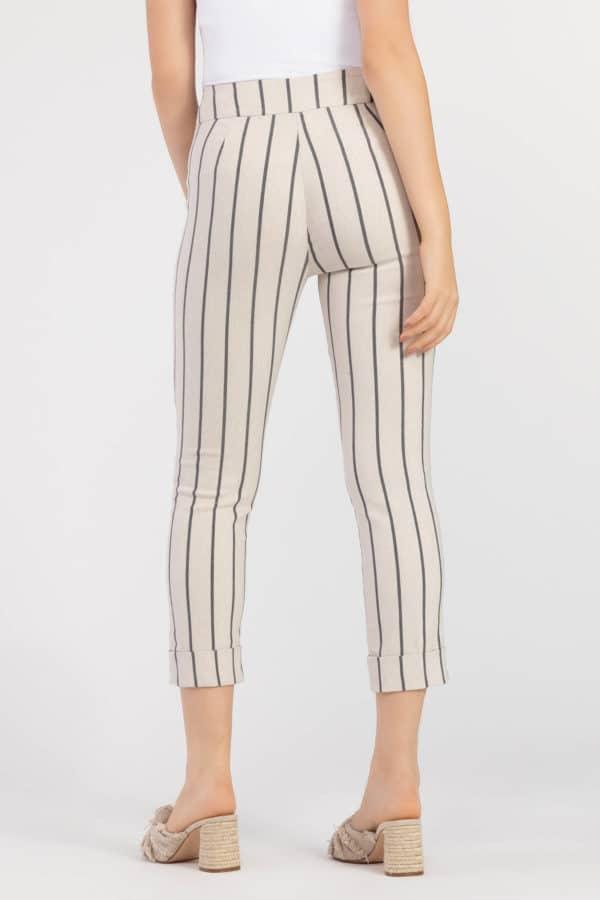 Striped Cuffed Pant