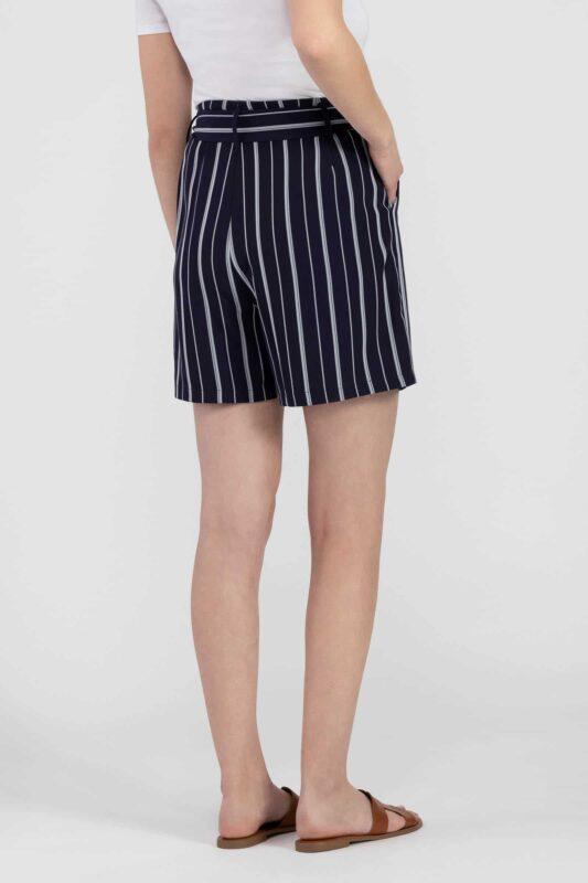tie waist striped shorts 3