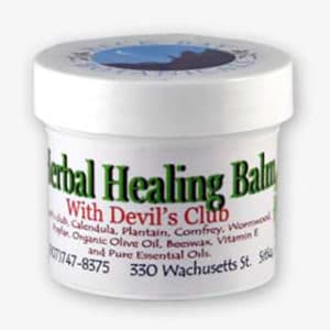 Herbal Healing Balm with Devil's Club Sitka Alaska