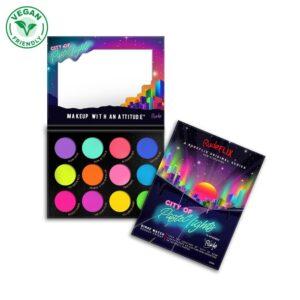 Rude City of Pastel Lights – 12 Pastel Pigment & Eyeshadow Palette