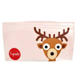 3 Sprouts Reusable Snack Bag (2 Pack)