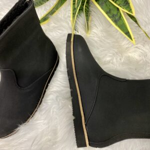 Tobin Black Leather Boot