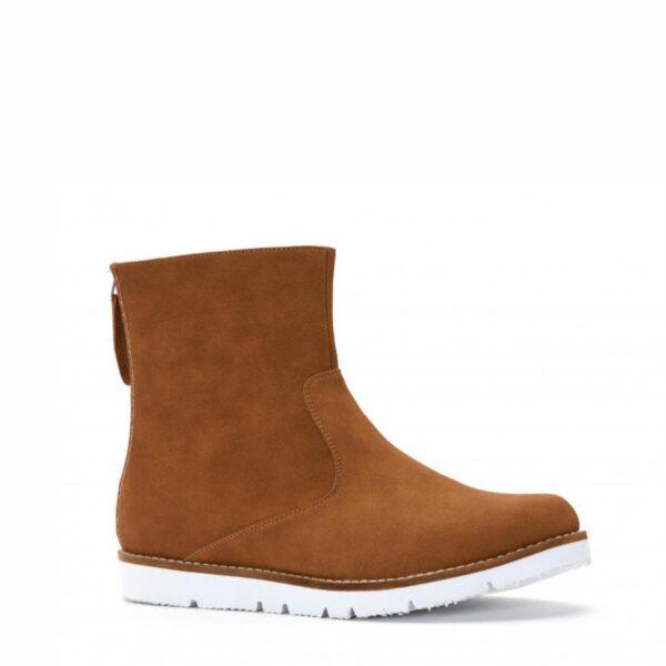 Tobin Brown Leather Boot