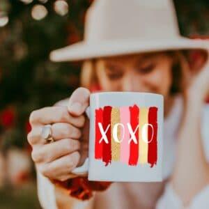 XOXO Matty + Luxe Valentines Day Mug
