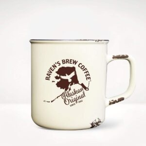 Raven's Brew Coffee Alaskan Original Camp Mug