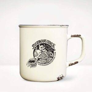 Raven's Brew Coffee Deadman's Reach Camp Mug