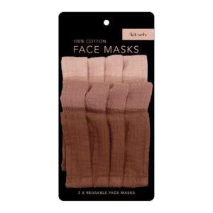 Cotton Face Mask 3pc Set